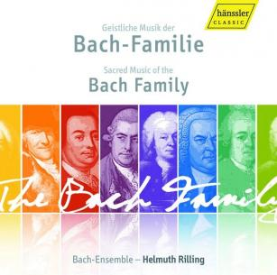 Sacred Music of the Bach Family (H. Rilling) (3CD)