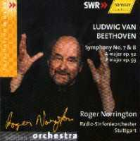 Symphony No.7 + 8: A major op.92, F major op.93 (Roger Norrington)
