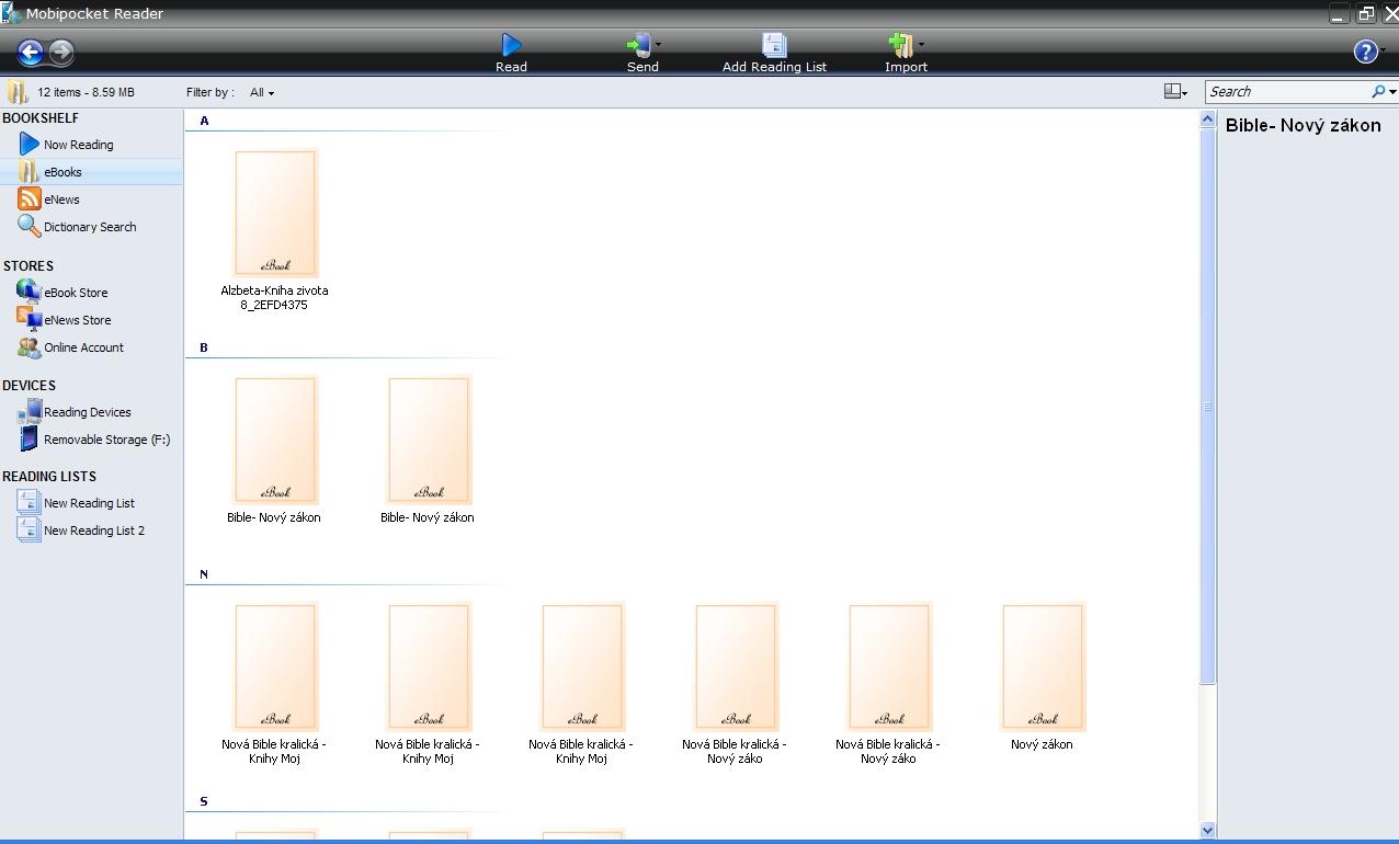 Mobipocket Reader Desktop 6 0 - | Theofil